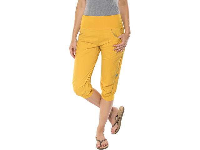 Ocun Noya - Pantalones cortos Mujer - amarillo